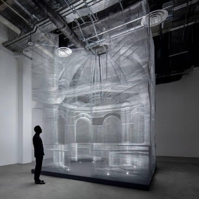 Wynn Macau art installation