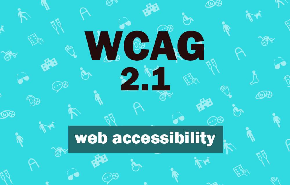 Web Accessibility wacag 2.1